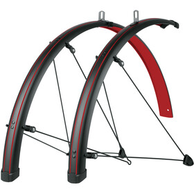 "SKS Bluemels Stingrey 45 Mudguard 28"", blazing red"
